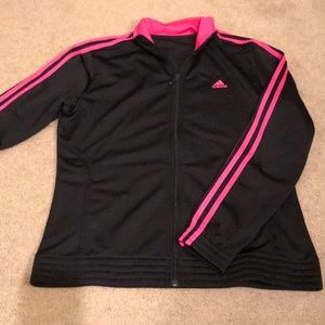 Adidas jacket. Women's 8-10. Like new.